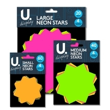 Neon Stars, Flashes & Card