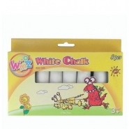 White Pavement Chalk, 8pcs