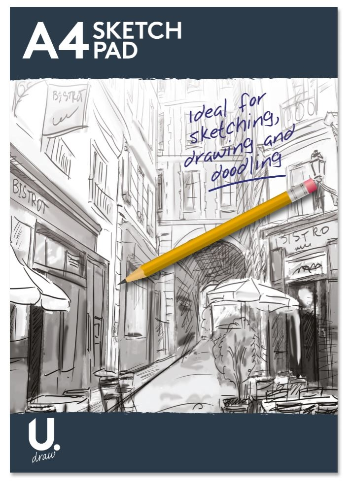 A4 Sketch Pad - Best Seller