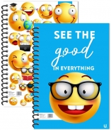 Emoji A5 Spiral Notebook