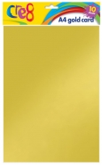 A4 Gold Card, 10 sheets