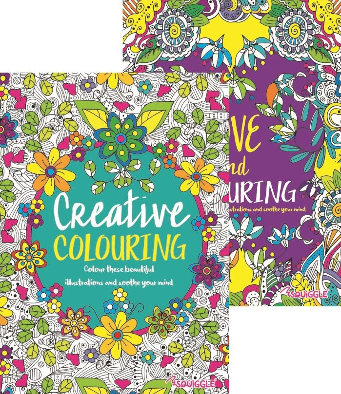 Advanced Colouring Book 3 & 4