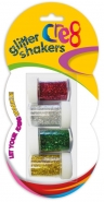 Glitter Shakers, 4pk Assorted