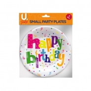 Happy Birthday Small Plates, 10pk