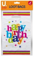 Happy Birthday Loot Bags, 8pk