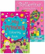 Ballerina & Princess Colouring Book - Best Seller