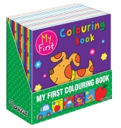 My First Colouring Books, 2 Asstd, 21x21cm