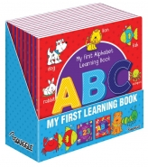 My First ABC/123 Learning Book 21x21cm