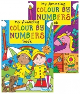Colour by Numbers Book