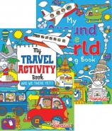 Around the World & My Travel, Colouring & Activity book