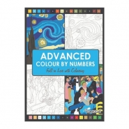 Advanced Colour by Numbers Book