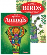 Animals & Birds Adult Colouring Books - Best Seller