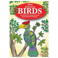 Birds Advanced Colouring Book