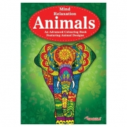Animals Advanced Colouring Book